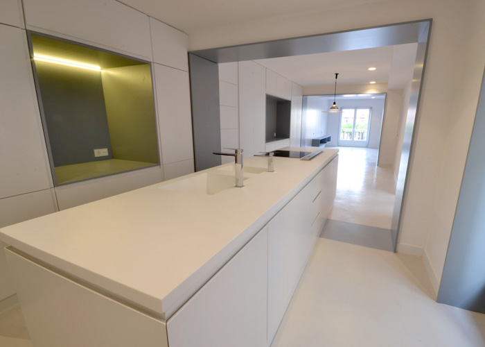 Solid Surfaces en reformas integrales