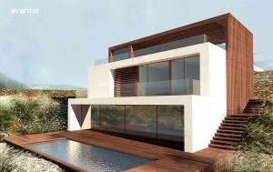 Proyecto de Avantia en Menorca con criterios de casa Passivhaus
