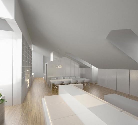 Diseño de interiores en salón - comedor de Burgos