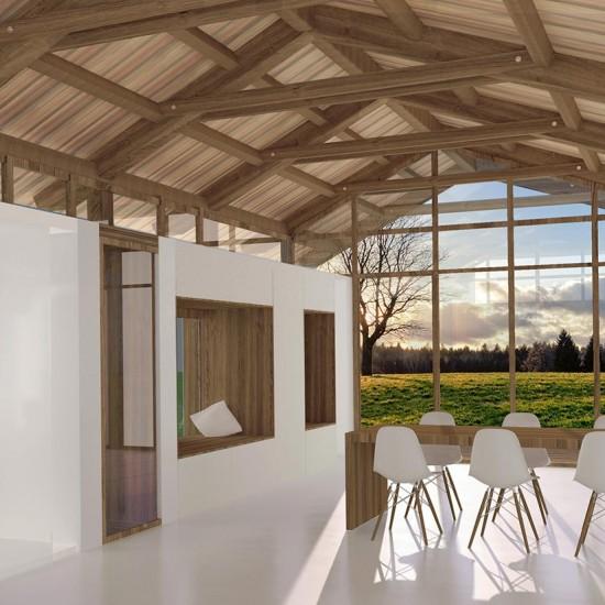 Salón de la construcción ecológica de madera