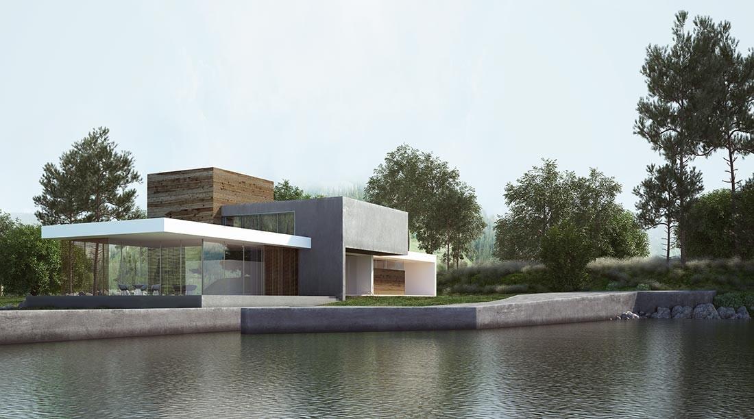 Casa inspirada en el Tetris, en Burgos