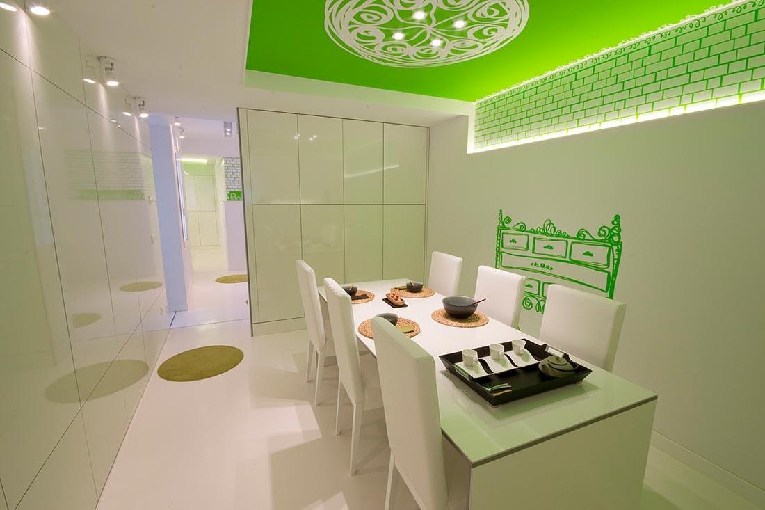 Diseño de interiores en un comedor de Burgos