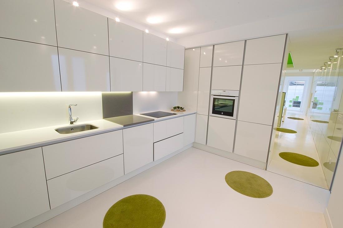Rehabilitación de cocina en casa de Burgos