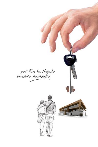 Obra nueva con llaves en mano