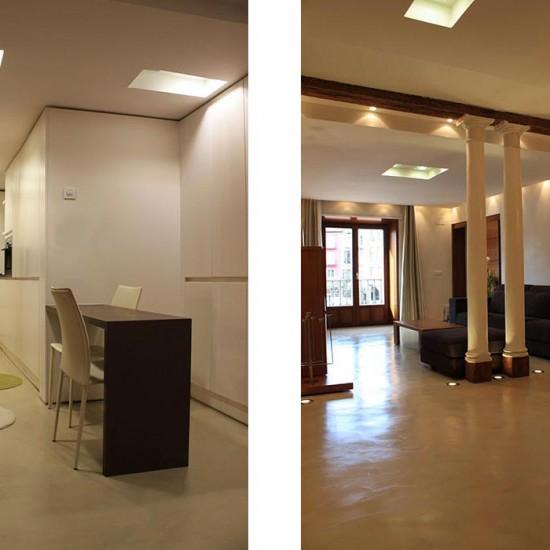 Diseño de modernos pisos en Burgos
